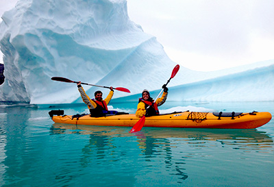 Adventure trips in Greenland
